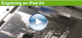 engraving an ipad air.
