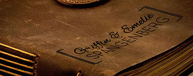 engraving leather with a laser