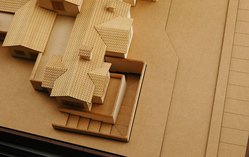 Business architectural model with cart entry