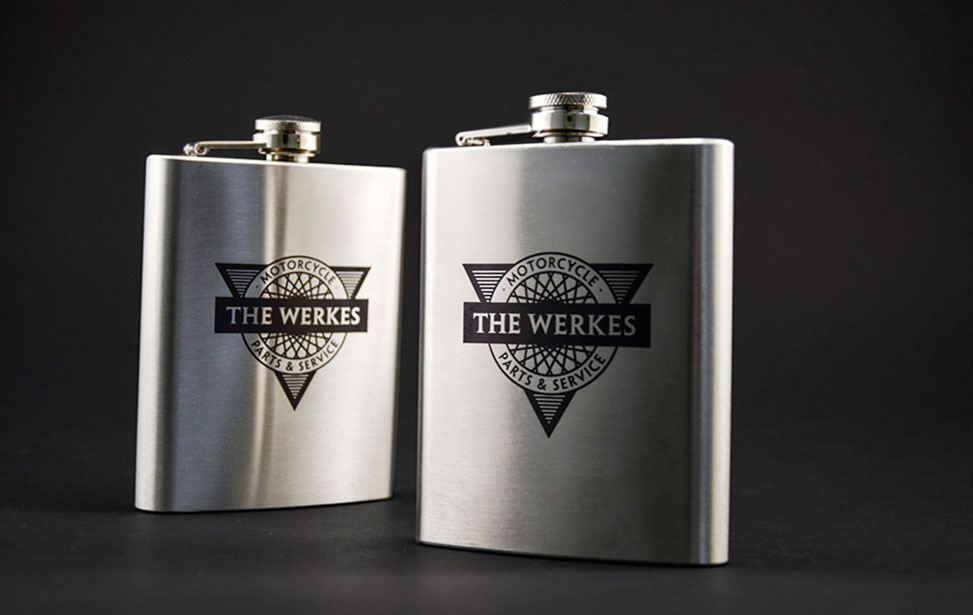 Stainless Steel Flasks with CerMark
