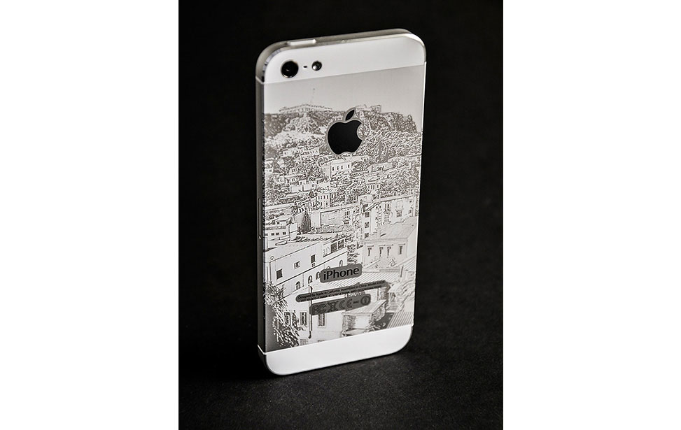 Photo Engraving on iPhone 5