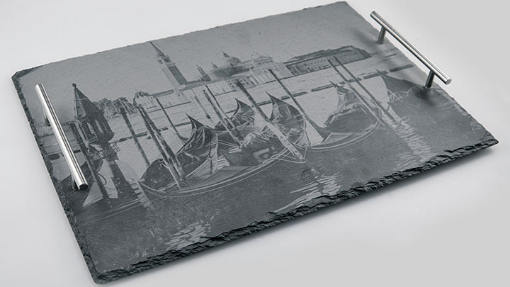 engraving slate with photos