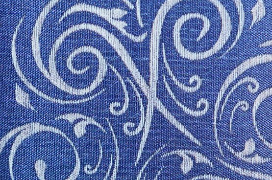 close up laser etched fabric