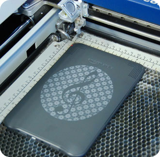 laser etched kindle