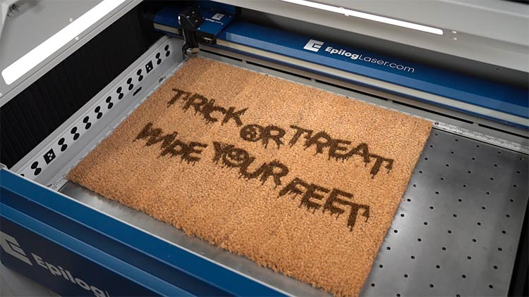 halloween coir doormat in fusion pro bed workarea final